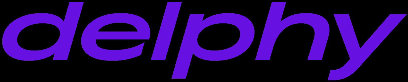 delphy logo violet